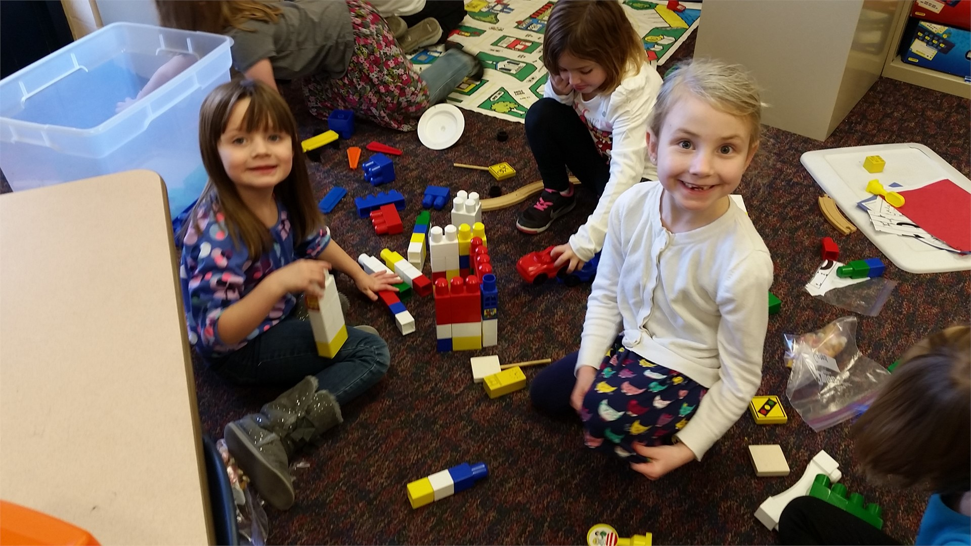 Kindergarten 100th Day Centers Feb. 5th, 2016