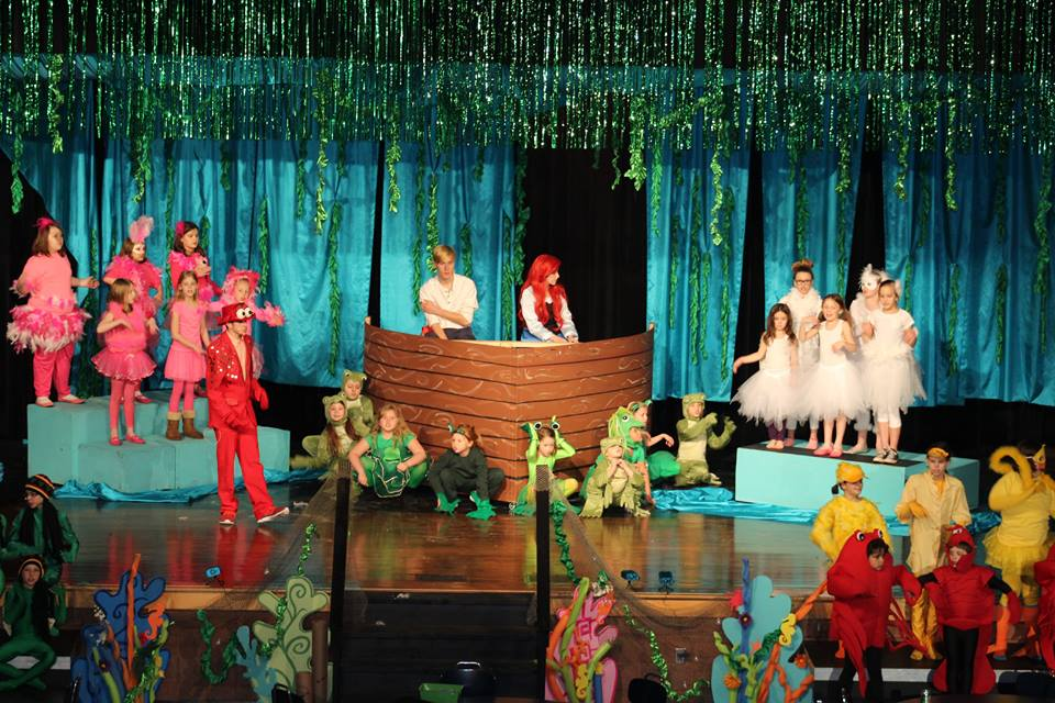 Little Mermaid Performance
