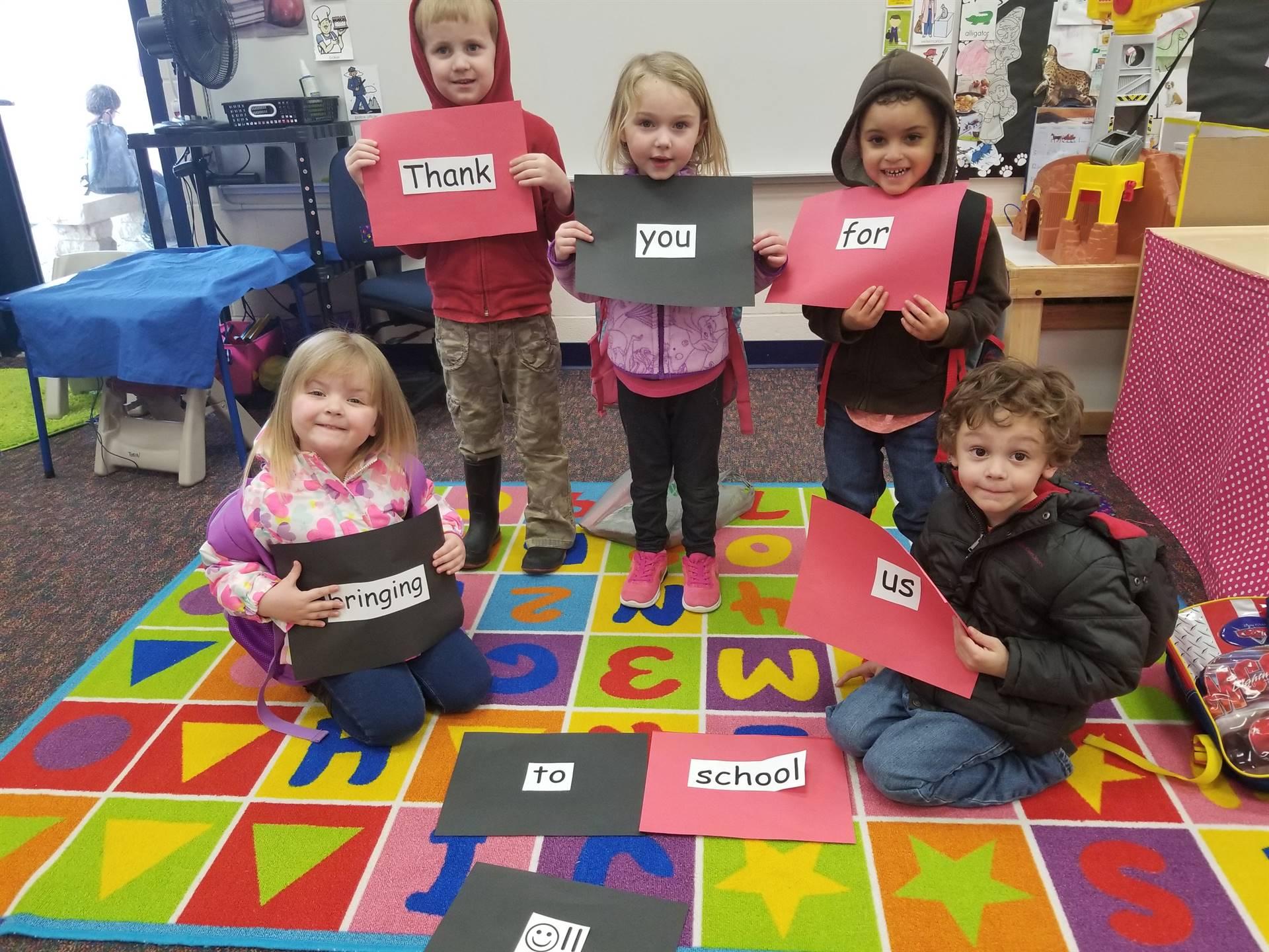 Thankful Preschoolers #NLKind