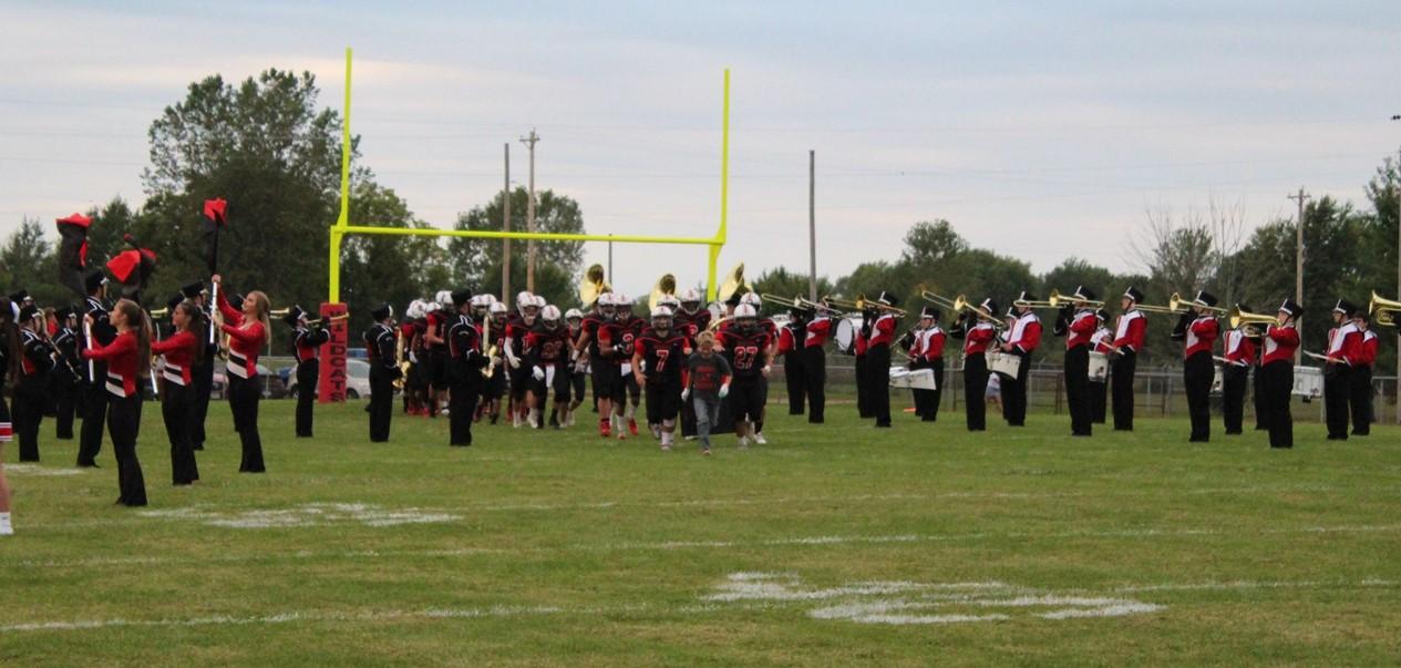 Football and Band