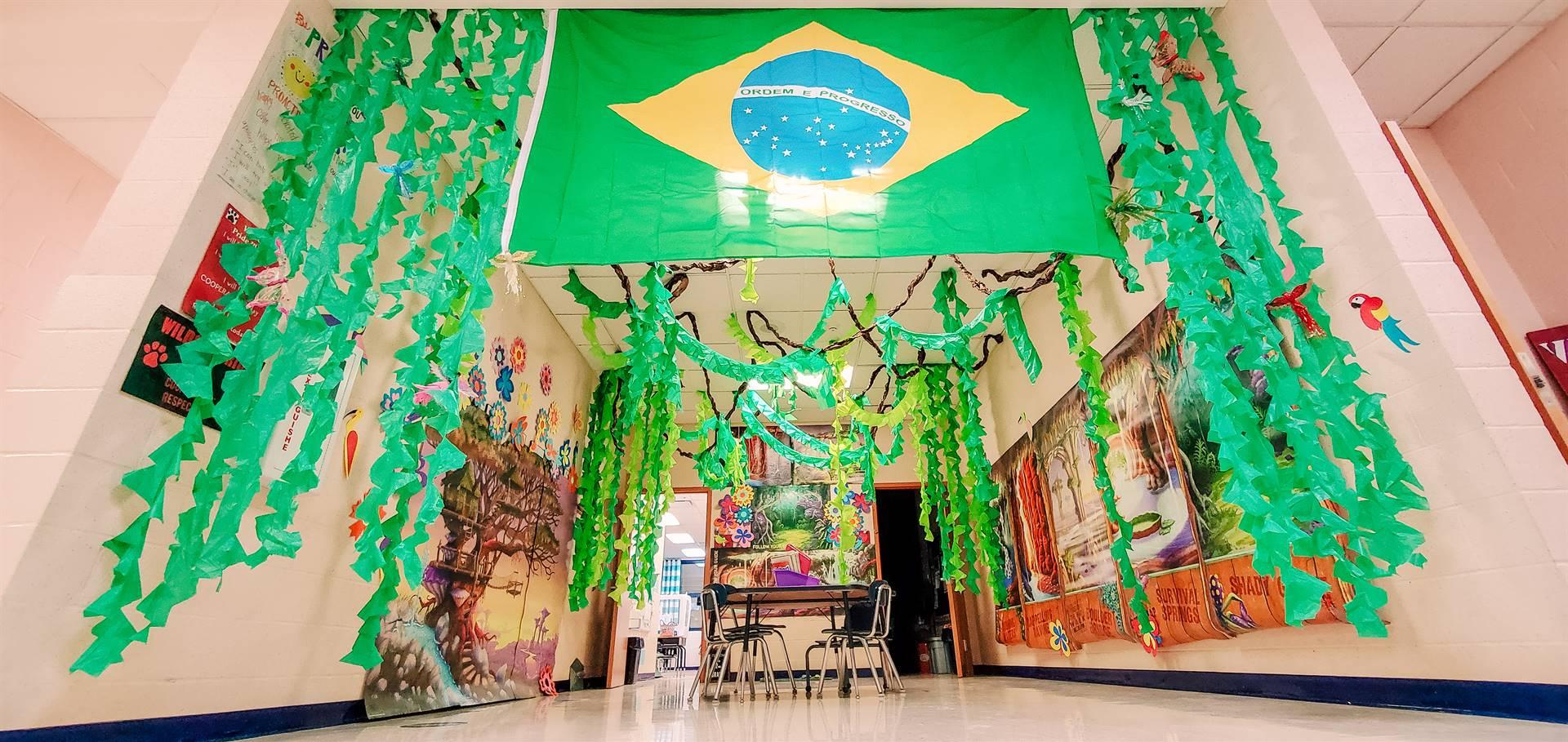 Brazil Day Entrance