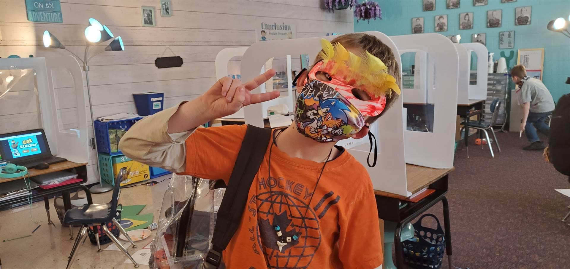 Brazil Day Mask