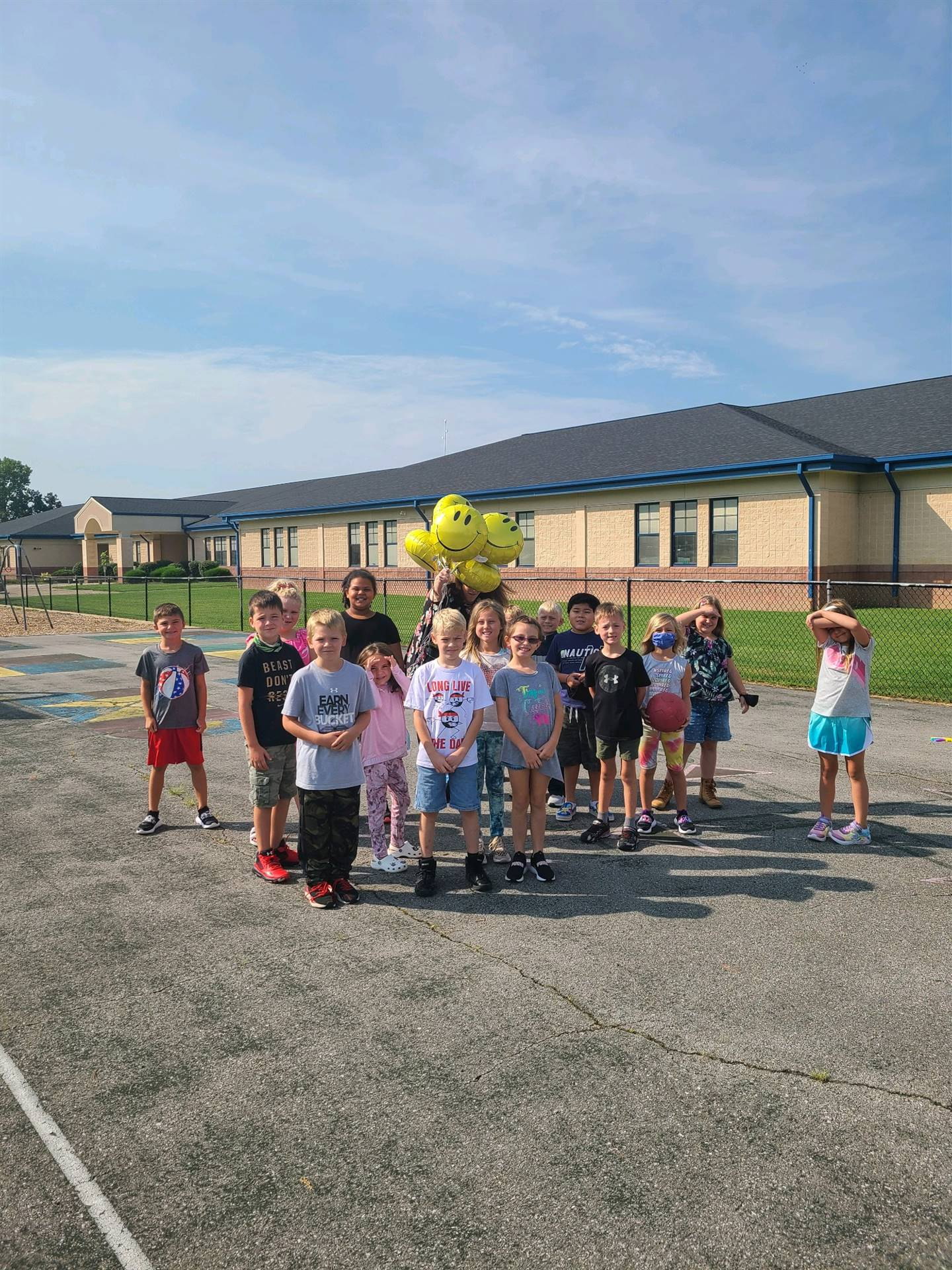 1st Day Balloon Release