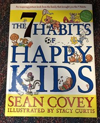 Book cover of The 7 Habits of Happy Kids